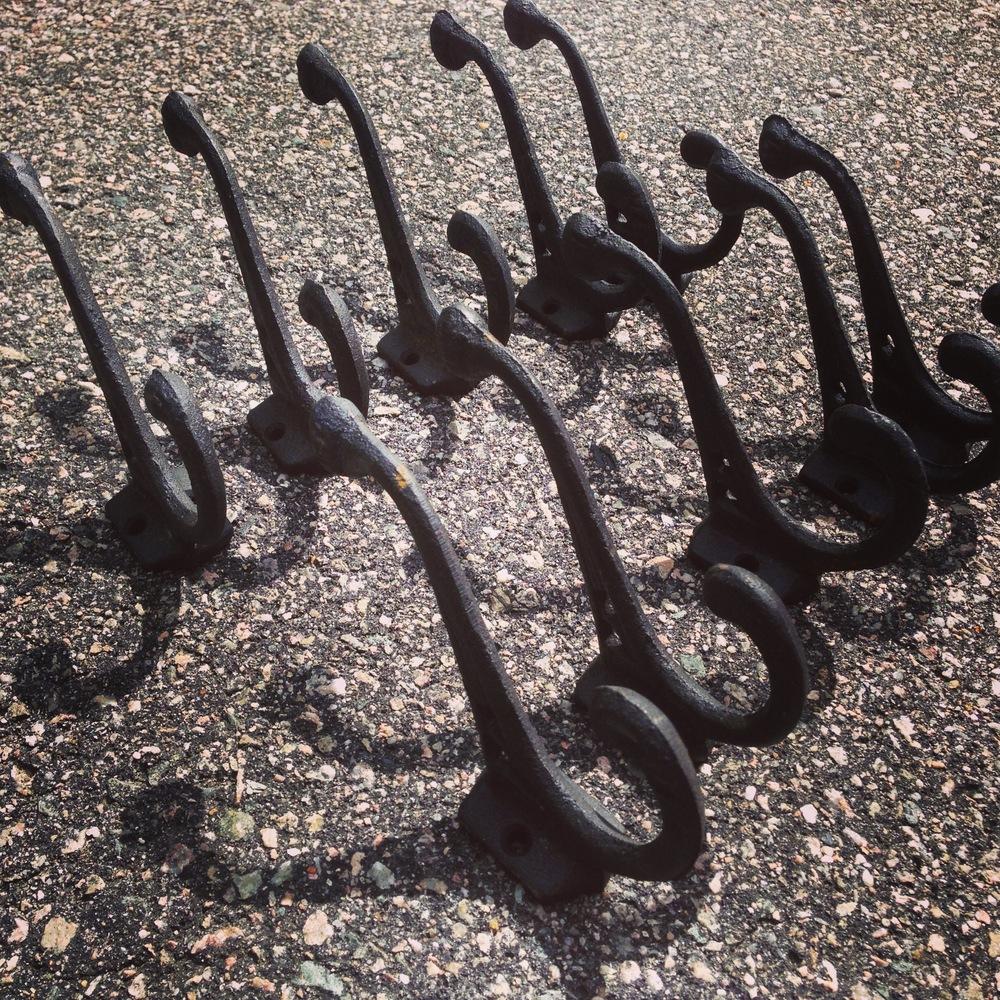 Ten hooks for $9