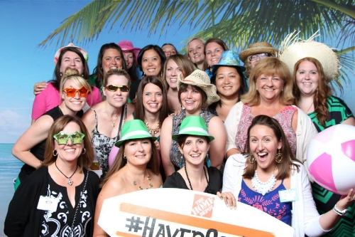 Only a few of us Silhouette Challengers at Haven Conference in Atlanta this July.