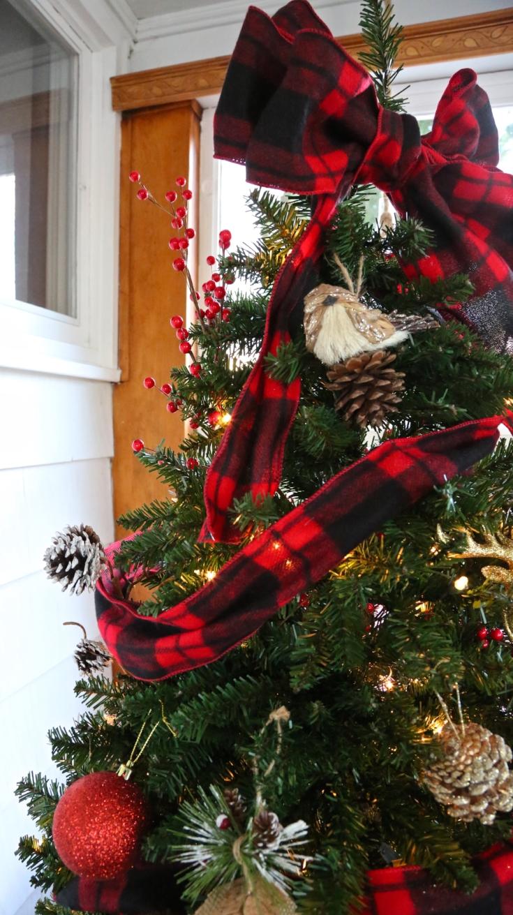 Buffalo Check Plaid Christmas Tree Weekend Craft