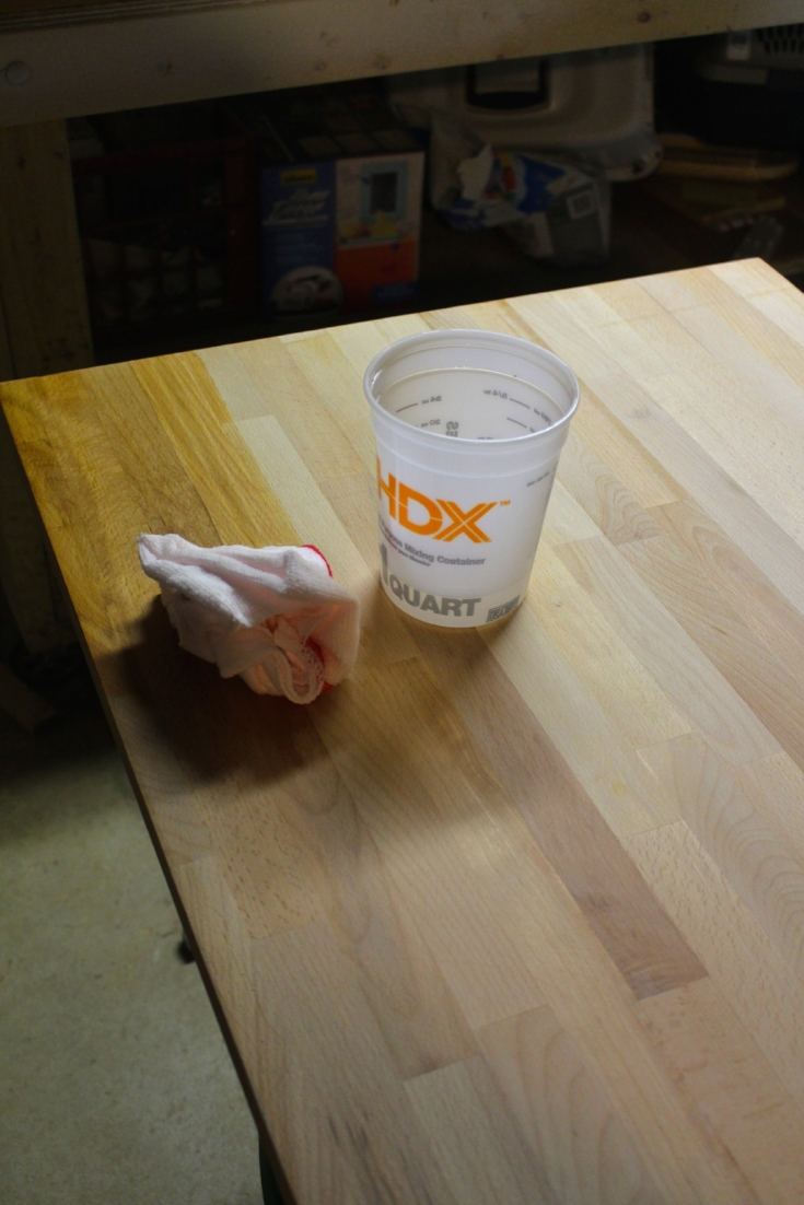 How to Finish Ikea Butcher Block Countertops - Weekend Craft