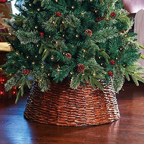 Christmas Tree Collars And Baskets Weekend Craft