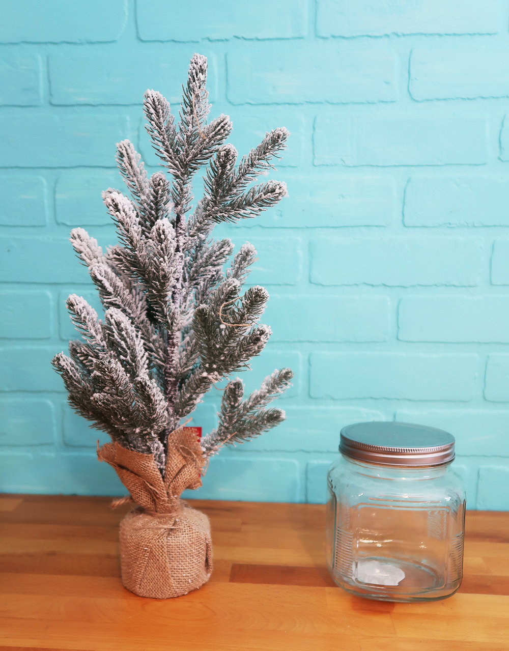 Mason Jar Christmas Tree - Weekend Craft