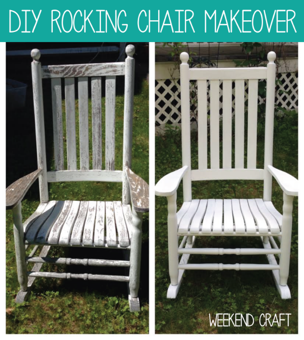 D  IY Rocking Chair Makeover over at Creative Ramblings